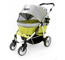 Buggy Retro innopet Grey/Lime tot 35 kg